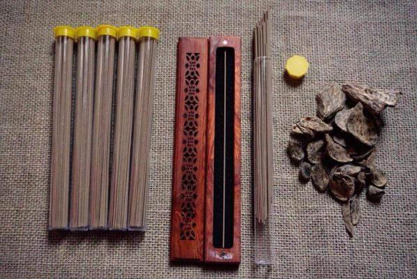 Nhang trầm hương không tăm và công dụng