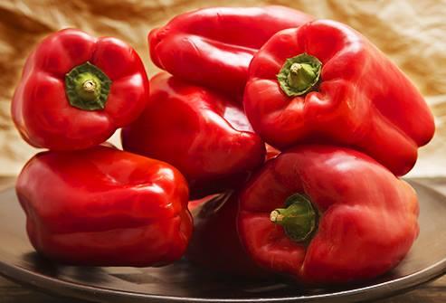 Rau bổ dưỡng tốt cho sức khỏe - Ớt chuông đỏ giàu beta-carotene